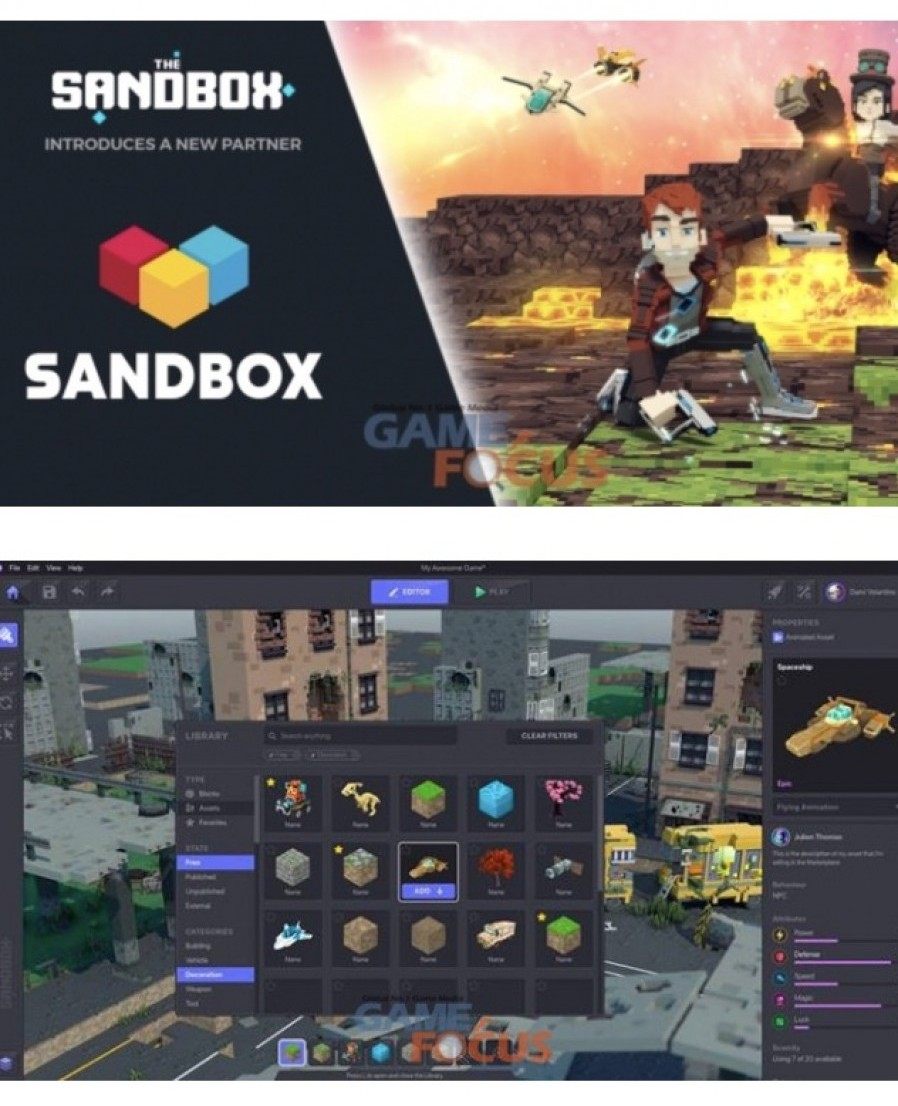 UGC game 'The Sandbox' partners with Sandbox Network, leading multichannel network in Korea